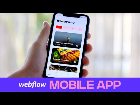 How To Develop A Mobile Web App In Webflow