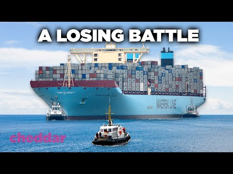 How Container Ships Are Causing A Frenzy At American Ports - Cheddar Explainers