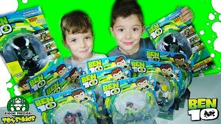 Ben10 Ρολόι Deluxe Omnitrix 100 Φράσεις και Φιγούρες Ηρώων Δράσης Διασκέδαση Παιχνίδια για παιδιά