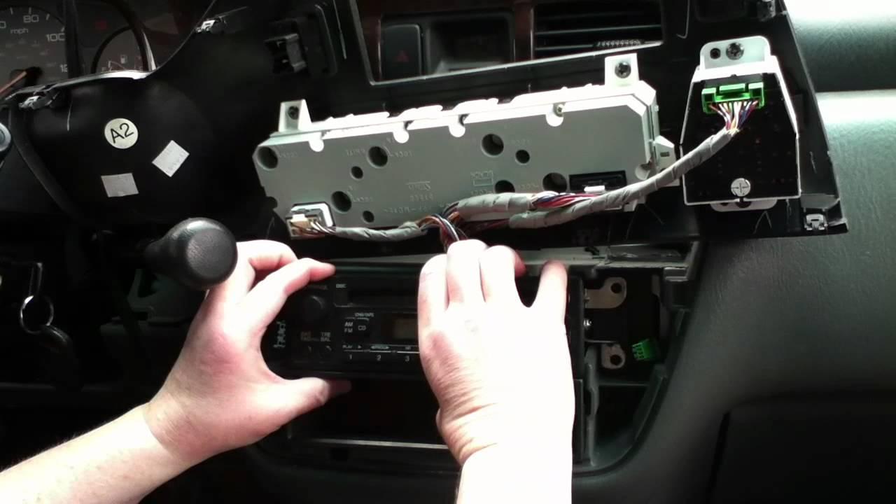 2004 Honda Odyessey radio serial number needed to unlock