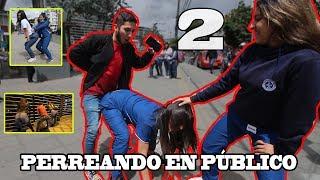 PERREANDO EN PÚBLICO #2 | Reggaeton vieja escuela