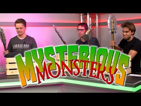 Mysterious Monsters - Trivia Game Show RPG - Ep. 4 - AJ LoCascio, Ben Moore, Matthew Walden