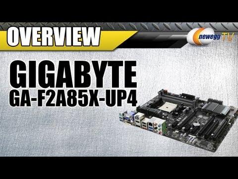 技嘉GA-F2A85X-UP4 (FM2 A85X DDR3 SATA3 前後USB3.0)非 A75 A78 A88X