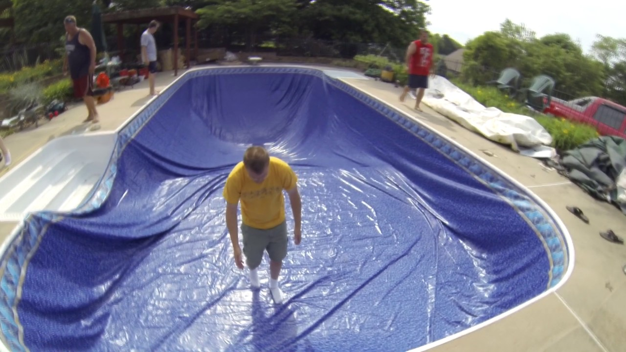 In Ground Pool Liner Install It Yourself