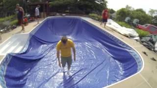 In ground pool liner - install it yourself