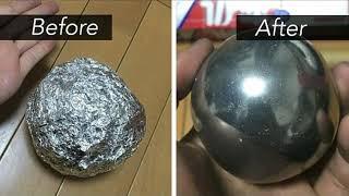 How to make a super polished aluminum ball