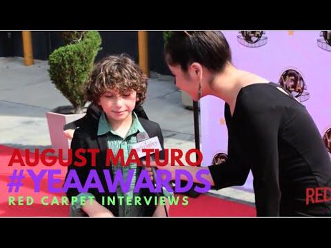 August Maturo GirlMeetsWorld at The Young Entertainer Awards UniversalStudios YEAAwards