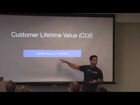 Important SaaS Success Metrics (MRR/ARR/CAC/ARPU/CLV/etc.) - Hamid Shojaee - PHX Startup Week