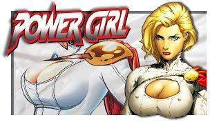 POWER GIRL - l'héroïne gonflée à bloc ❤️
