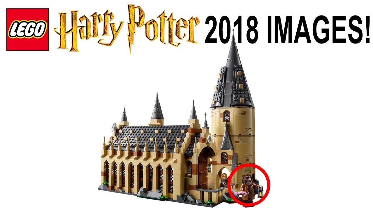 lego harry potter 2018 official set images hogwarts castle 75954 youtube. Black Bedroom Furniture Sets. Home Design Ideas