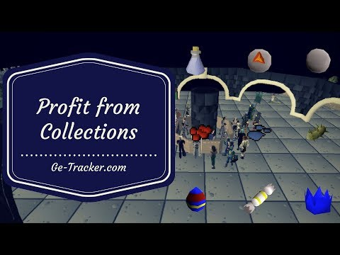 [OSRS Flipping/Merching] Profit from Collections