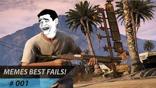 GTA V - Memes Best Fails #1