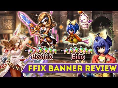 [FFBE] Final Fantasy Brave Exvius - FFIX Beatrix and Eiko Banner Review