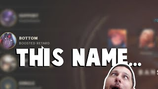 We All Have That One Friend Who Deserves THIS NAME in League of Legends... | Funny LoL Series #271