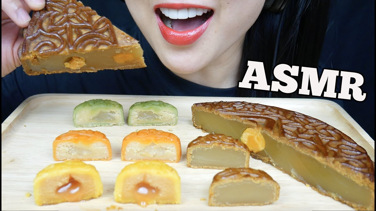 Asmr Moon Cake Cheese Custard Salted Egg Yolk Lotus Seeds Eating Sounds No Talking Sas Asmr Youtube She created her channel in april of 2016, uploading one of her earliest videos, asmr sushi dynamite roll mukbang, in november of that same year. asmr moon cake cheese custard salted egg yolk lotus seeds eating sounds no talking sas asmr