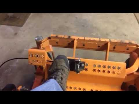 Grass Flap cable routing on Scag Tiger Cat II