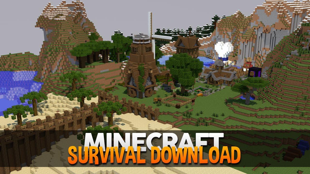 survival minecraft download