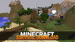 Minecraft Survival: NOVO DOWNLOAD DO MAPA!!! (1.8+)