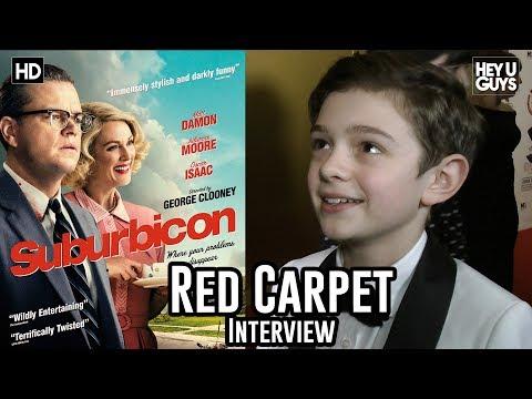 Noah Jupe - Suburbicon - Critics Circle Awards 2018 Red Carpet Interview