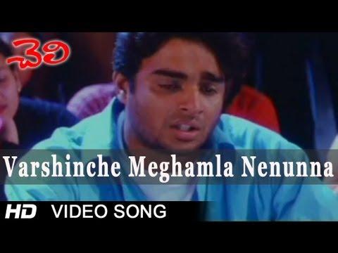 Varshinche Meghamla Nenunna Video Song || Cheli Movie || Madhavan, Abbas, Reema Sen