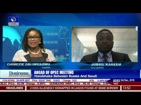 Ahead Of OPEC Meeting: Handshake Between Russia And Saudi |Business Incorporated|