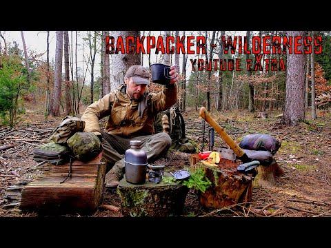 Bushcraft, Survival & Adventure - Frage & Antwort - YouTube Extra Backpacker Wilderness