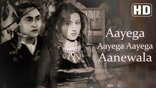 aayega aayega aanewala part 1 mahal 1949 songs ashok kumar madhubala old hindi songs