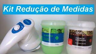 Kit Redução de Medidas Body Massager e Pimenta Negra - Beleza10