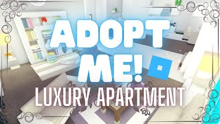 Luxury Apartment 1   House Design   Tour   With Madammadhouse   Adopt Me Roblox