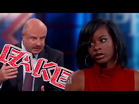 Racist Girl On Dr. Phil Is Fake!