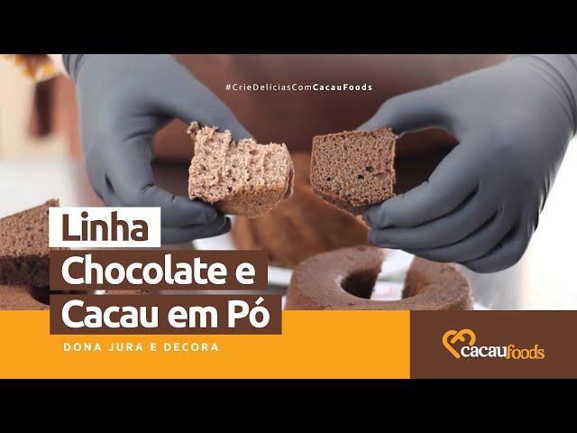Modos de Aplicações - Linha Chocolate e Cacau em Pó #CrieDelíciasComCacauFoods