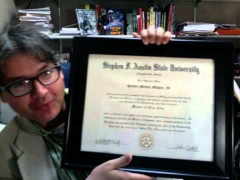 How To Look At Your Diploma In A Frame