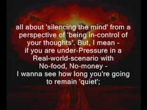 eckhart tolle how to stop thinking