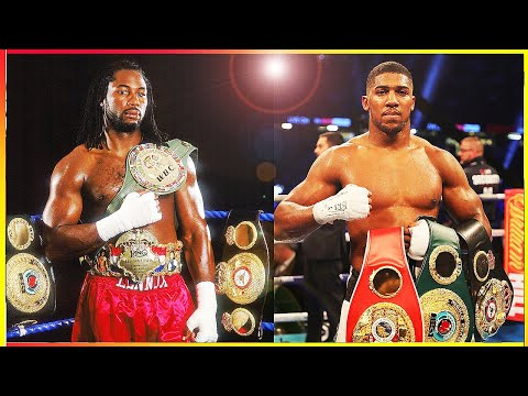 Anthony Joshua vs Lennox Lewis - Clash of the British Punchers