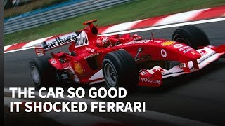 The car so good it shocked Ferrari