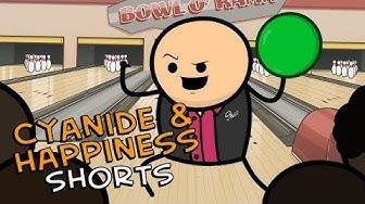 Bowling Night - Cyanide & Happiness Shorts