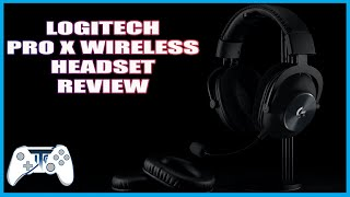 Logitech Pro X Wireless Headset Review - Comfort & Quality (Video Game Video Review)