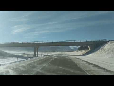 Amazing Chinook winds in Alberta Canada 🍁