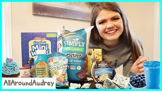 24 Hours Eating Only Blue Foods / AllAroundAudrey