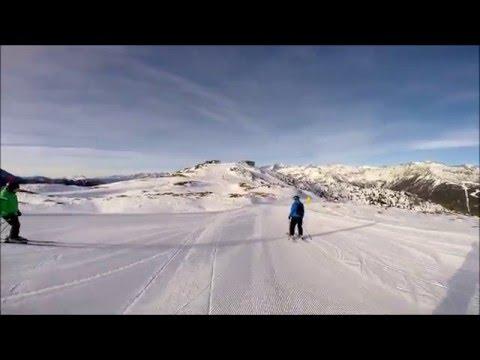 Skiing Madonna Di Campiglio, 73 Spinale Diretta And 77 Fortini - Red Slopes, Max 84km/h