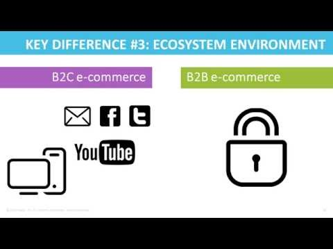 Webinar: B2B vs B2C E-commerce - 5 Ecosystem Environment