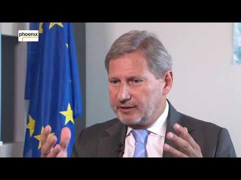 Johannes Hahn im Gespräch mit Klaus Weber zu Türkei und Libyen am 25.10.17