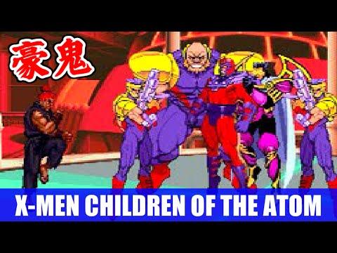 豪鬼(Akuma) エンディング and スタッフロール - X-MEN CHILDREN OF THE ATOM