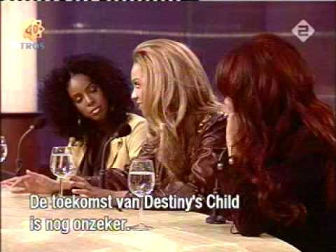 Destiny's child interview on a dutch tv show