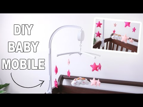 DIY Baby Mobile That Spins - Under $20 | Jenelle Nicole