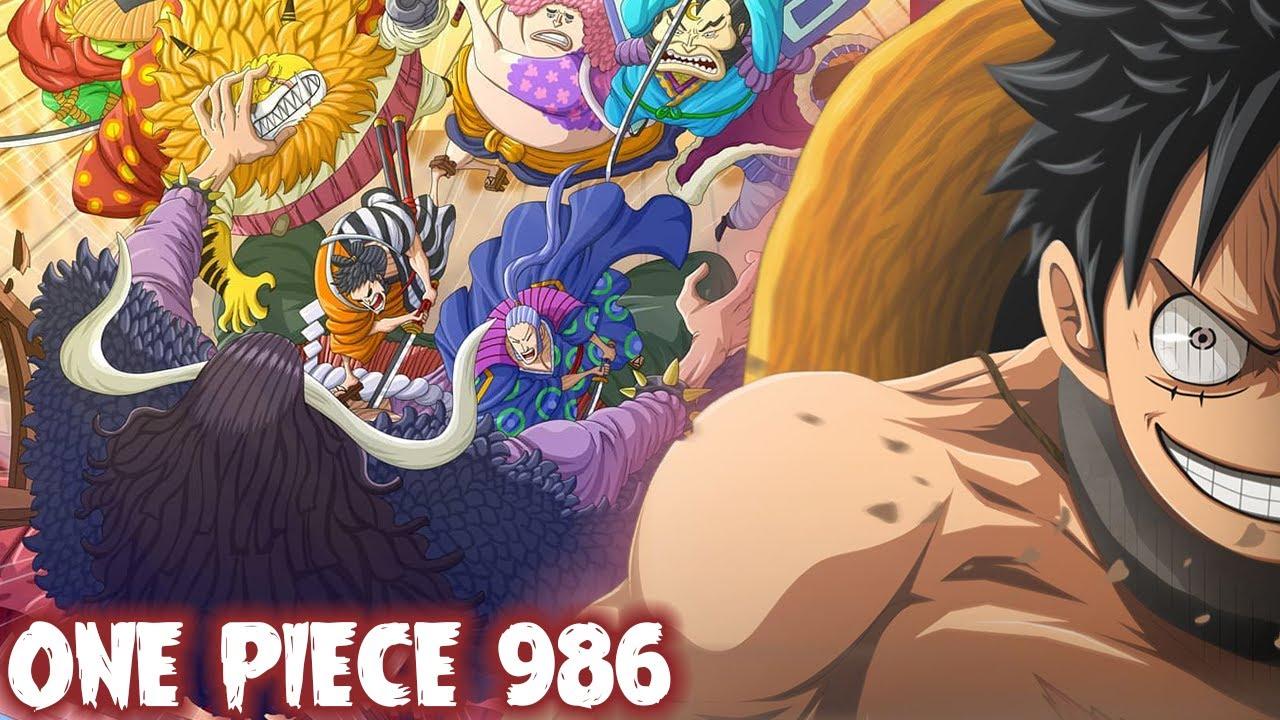 REVIEW OP 986 LENGKAP! EMOSYENEL! BUKTI LUFFY SUDAH MASTER SEGALA JENIS HAKI! - One Piece 986+
