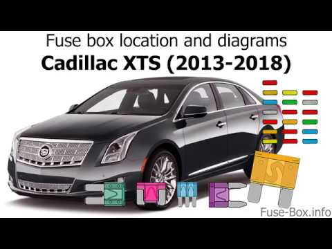 Fuse Box Location And Diagrams Cadillac Xts 2013 2018 Youtube