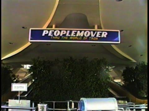 Disneyland Peoplemover - 1990
