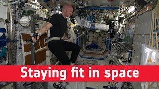 Space medicine: staying fit in space