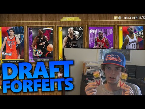 EPIC DRAFT FORFEIT CHALLENGES!!!